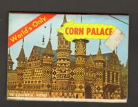 Vintage State Metal Pin SD Tourist Trap Black Hills Mitchell Corn Palace Enamel Pin  SOUTH DAKOTA for Trucker Cap Gold White Blue