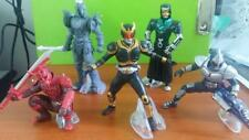 "4"" INCH MASKED RIDER KUUGA SET OF 5 (2) KAMEN RIDER ACTION FIGURE PVC"