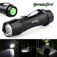 8000LM XML T6 Zoomable Taktische LED Taschenlampe Fackel Lampe CREE XPE 3 Modi