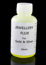 Jewelery Soldering Liquid FLUX for all Metals - Gold, Silver, Brass,Bronze 50mls