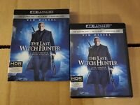 The Last Witch Hunter: w/RARE OOP Slipcover (4K Ultra HD & Blu-ray) No Code