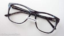 Große Panto Brille grau Kunststoff Nerdbrille Herren Fassung oversized Grösse M