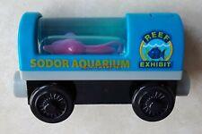 BN VHTF Thomas Friends Wooden Railway Sodor Aquarium Squid Lights Up Train Car