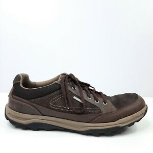 Rockport XCS Mens Shoes Size AU/UK 10.5 Leather Brown Hydro Shield Waterproof