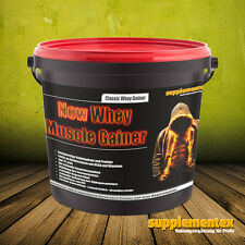 Whey Muscle Gainer! 3kg Masse Kraft Eiweißshake Anabol Protein BCAA Anabol