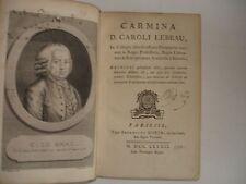 LEBEAU CARMINA 1782
