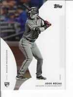 JOSH ROJAS 2020 TOPPS ON DEMAND MLB ROOKIE PROGRESSION WAVE 2 CARD 19 ARIZONA