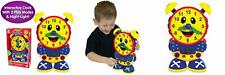 The Learning Journey Telly Teaching Time Clock Primary Colors - Multi