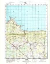 Russian Soviet Military Topographic Maps - VERGI/ SAGADI (Estonia), ed.1974