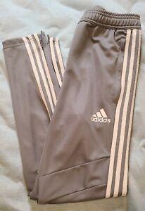 Adidas Tiro 19 Mens Soccer Training Pants - Gray / White - Small
