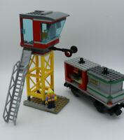 LEGO City Eisenbahn- Leitstelle / Tower mit Waggon Güterwaggon NEU Bausatz 60198
