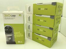 NEW LG 360 CAM Spherical Camera Wide-Angle 2K Video Silver LG-R105