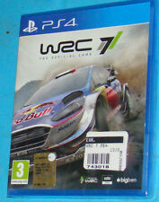 WRC 7 - Sony Playstation 4 PS4 - PAL  New Nuovo Sealed