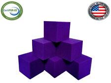 "Foam Pit Cubes 20 pcs. ( Purple ) 5""x5""x5"" Flame Retardant Foam Blocks"