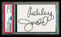 Ashley Judd signed autograph 2.5x3.5 cut Actress: A Time to Kill PSA Slabbed