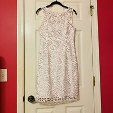 Cache White Lace Dress Womens size 4 - Cocktail