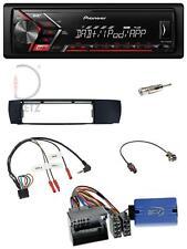 Pioneer MP3 DAB 1DIN Lenkrad USB Autoradio für BMW X3 04-10 E83 seitlich