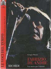 FABRIZIO DE ANDRE'  LE VOCI DEL TEMPO CD + BOOK /  LIBRO SIGILLATO!!!