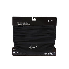 Nike Running Wrap Neck Warmer Beanie Scarf Shawl Mask OSFM Black AC3602-001