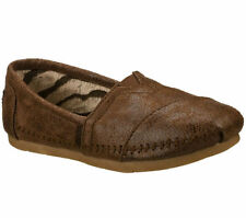 Skechers Synthetic Medium Width (B, M) Solid Shoes for Women