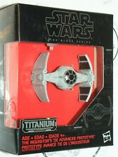 THE INQUISITOR'S TIE FIGHTER - STAR WARS FORCE AWAKENS TITANIUM TOY VEHICLE 2015