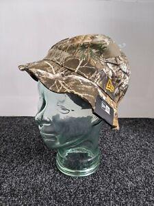 New Era Cap Men's Summer Essential Tree Camo Fishing Bucket Hat - Size Medium