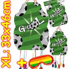 Pinata Fussball + Maske - Fußball Piñata Set Kindergeburtstag Kinder Geburtstag