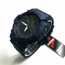 *NEW* CASIO MENS G SHOCK STEP TRACKER BLUE G SQUAD WATCH XL GBA800-2A  RRP£189