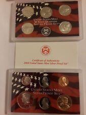 2004-S US Mint Silver Proof Set