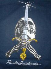 tshirt vintage new powell skateboards peralta navy -- size M -- skateone edition