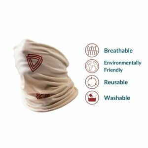 Virustatic Shield Antiviral Face Covering with Protective Features - Heavy Duty