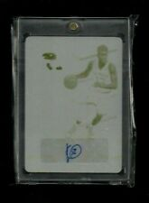 Kelly Oubre Contenders Draft Picks PRINTING PLATE Auto Rookie #1/1 Wizards SP RC