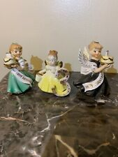 josef originals figurines 3 Years Birthday With 2 Ardalt Angels .