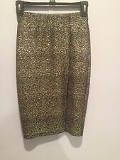 love...ady skirt  with slit size xs new without tags
