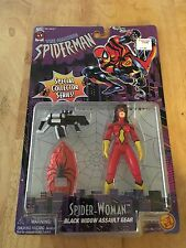 AMAZING SPIDER-MAN SPECIAL COLLECTOR SERIES SPIDER-WOMAN 1996 TOYBIZ!!!