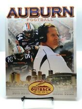 2010 Outback Bowl Auburn Football Media Guide