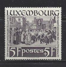 LUXEMBOURG - B91 - MH - 1938 - 12TH CENTENARY OF DEATH OF ST. WILLIBRORD