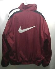 Nike Air Light Windbreaker Track Jacket Big Logo Swoosh Mens Size Large VTG Rare