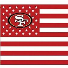San Francisco 49ers 3x5 Foot Banner American Flag New
