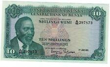 Kenya 10 Shillings 1971