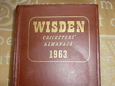 Wisden hardback 1963 100th Edition with all its original wrappers/covers