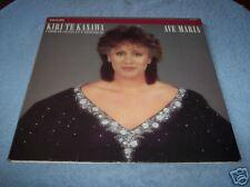 AVE MARIA-KIRI TE KANAWA , LP'S, RECORDS