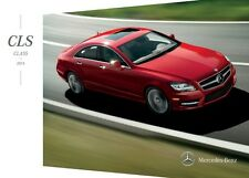 2014 Mercedes Benz CLS-Class CLS550 CL63 AMG 28-page Sales Brochure Catalog