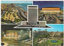 TEL AVIV - Israel / Palestine - Shalom Mayer Tower - 1969 used postcard