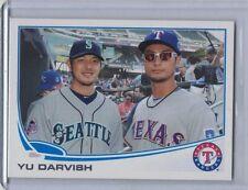 YU DARVISH  2013 Topps Update SP Variation #US79B  (Wearing Glasses)  (C274)