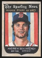 ANDREW BENINTENDI Sketch Card CHRIS HENDERSON 1/1 PSC Red Sox