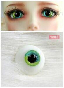16mm Resin Eyes For 1/3 1/4 1/6 BJD Doll Doll Dollfie Handmade Human iris eyes