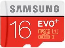 Samsung 16GB Evo Plus MicroSDHC Class 10 80 MB/s Memory Card With Warrnty