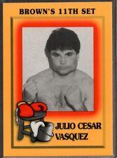 1997 Brown's Boxing #82 Julio Cesar Vasquez