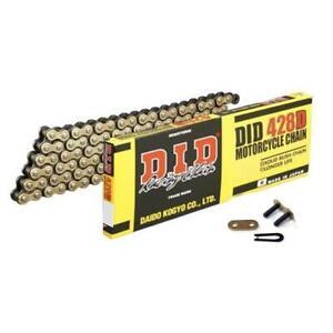 DID Std Gold & Black Chain 428 / 124 links fits KTM 85 SX 04-17